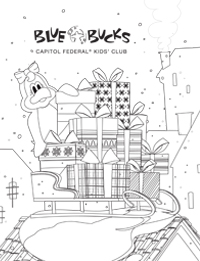 Blue Bucks Coloring Sheet Image 2