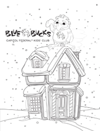 Blue Bucks Coloring Sheet Image 3