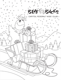 Blue Bucks Coloring Sheet Image 5