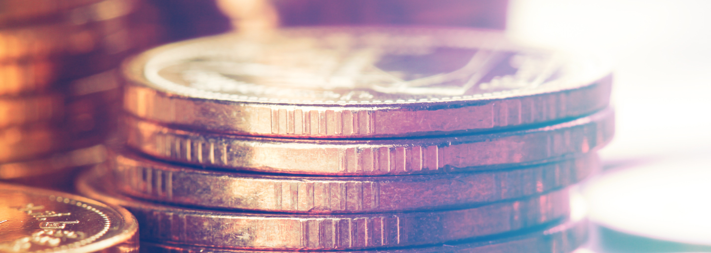 Stack of pennies image