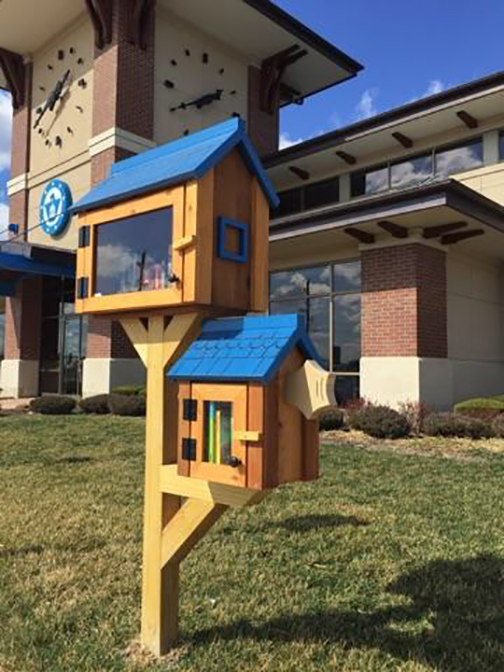 Liberty branch little library image