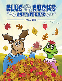 Fall Issue of Blue Bucks Adventures