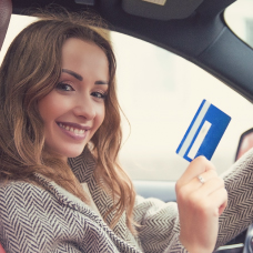 Pod image for the Simple Blue Rewards Checking Account.