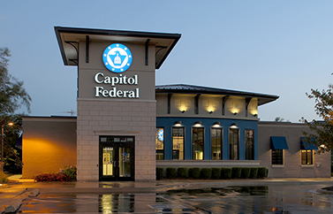 Image of Capitol Federal Embassy Plaza branch in North Kansas City